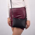 Dámská kabelka kožená SEGALI A6B černá