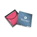 Kožená kapsička SEGALI 7488 hot pink