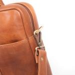 Pánská kožená taška SEGALI 7009 koňak