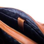 Pánská kožená taška SEGALI 7015 koňak