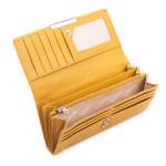 Dámská kožená peněženka SEGALI 7066 žlutá