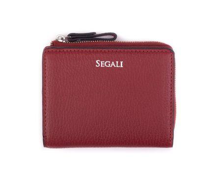 Dámská kožená peněženka SEGALI 7412 portwine