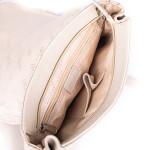 Dámský batoh kožený SEGALI 9027 blanco roto