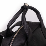 Dámský batoh kožený SEGALI 9026 černý