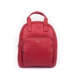 Dámský batoh kožený SEGALI 9026 rojo