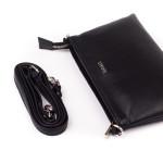 Dámská kabelka kožená SEGALI A1 černá